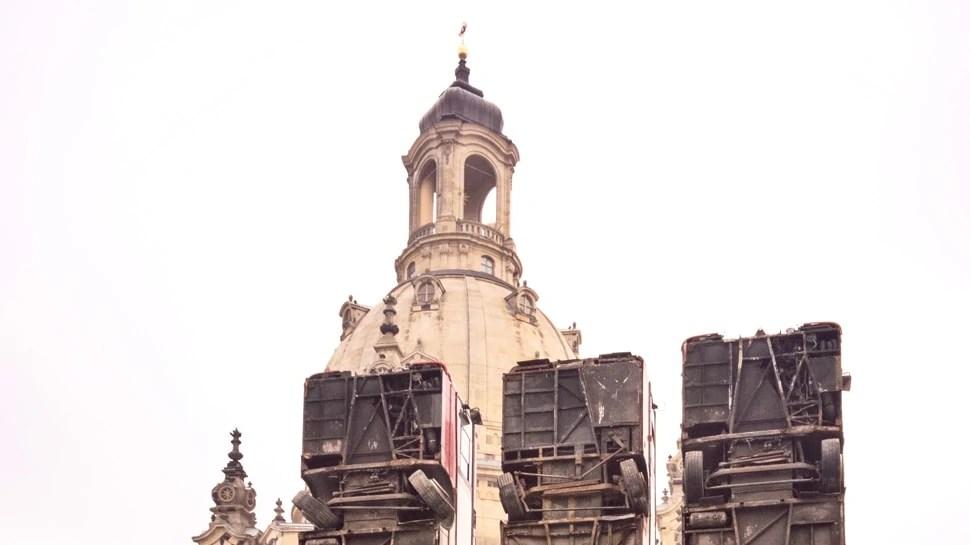 Dresden Frauenkirche Monument
