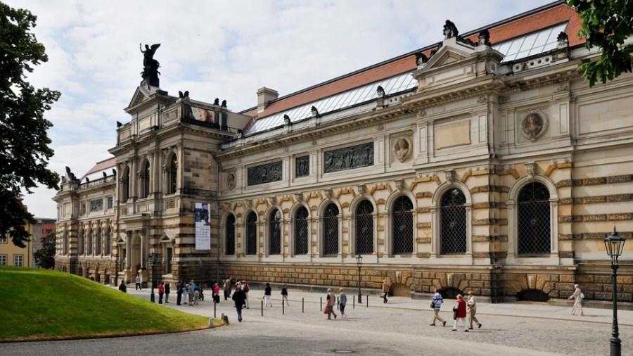 The Albertinum in Dresden