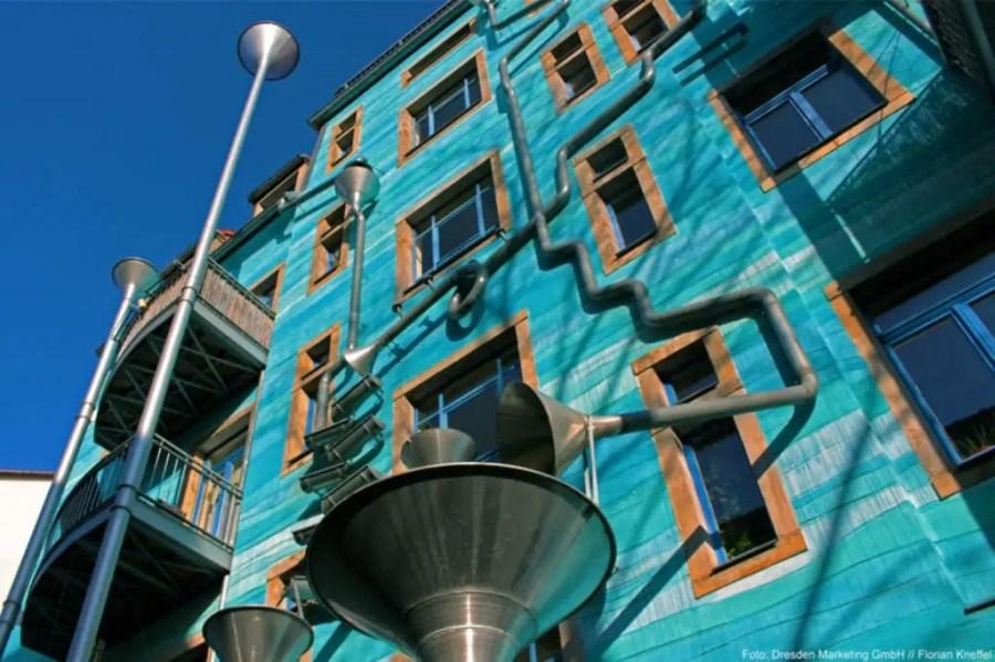 Die Kunsthofpassage in der Dresdner Neustadt. Foto: Florian Kneffel (DML BY)