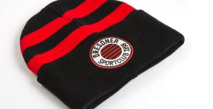 Wintermützen, Schals, Jacken - alles im DSC-Fanshop