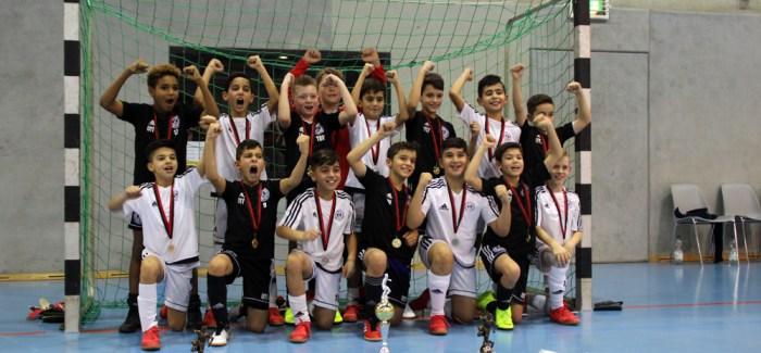 Turniersieger Tennis Borussia Berlin mit U10 und U11
