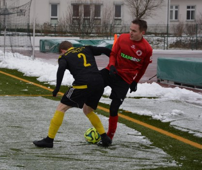 Testspiel: Großenhainer FV 90 - Dresdner SC 1:1 (0:0)
