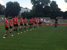 Mannschaftsabend und gemeinsames Training Erste und Zweite