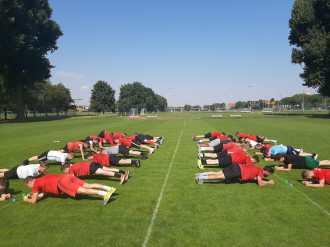 Sportclub gewinnt Hitzeschlacht