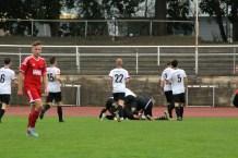 1. Spieltag: Dresdner SC - SG Crostwitz 1981 3:2 (1:1)