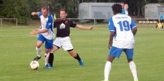 Testspiel gegen Freital am 31. August