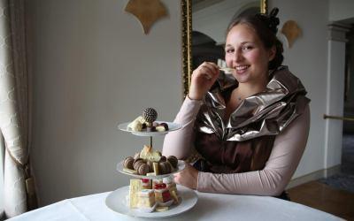 Louisa-Marie Eger amtiert als 2. Dresdner Schokoladenmädchen (Handwerkskammer Dresden)