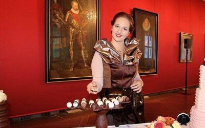 Hochzeitsbuffet mit Schokoladenmädchen (KOCA)
