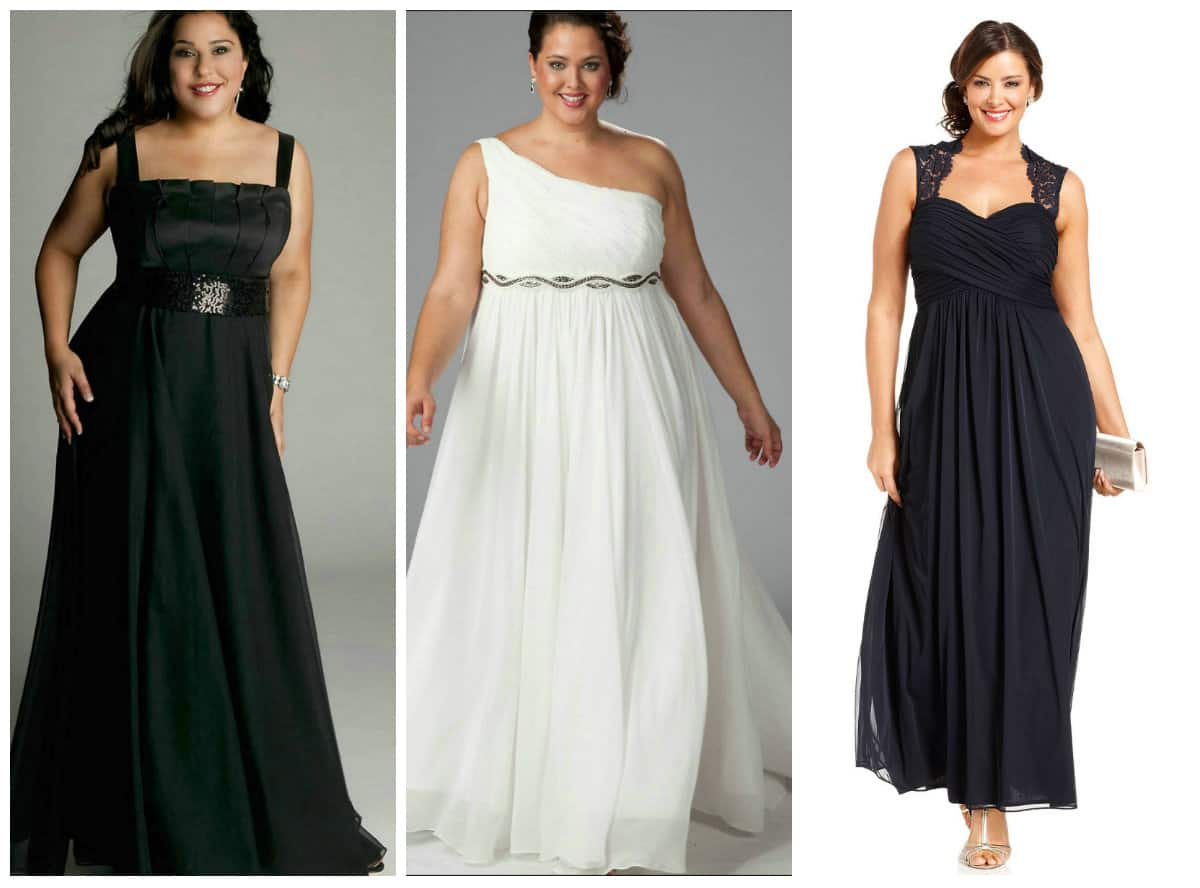 Women's Plus Size Cocktail And Evening Dresses Trends