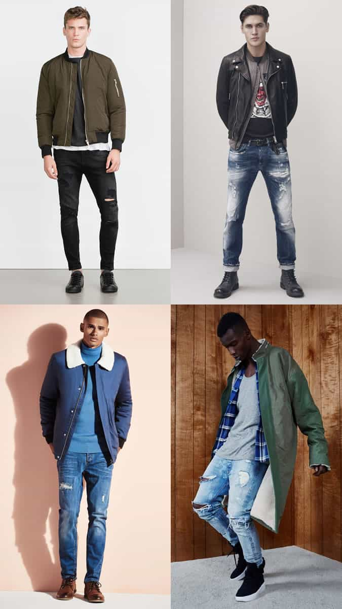 80s Rock Clothing Styles For Men