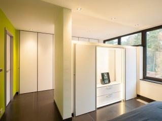 Inbouwkasten slaapkamer op maat modern interieur