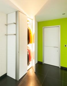 Kast en binnendeuren op maat van belgisch merk Anyway Doors.