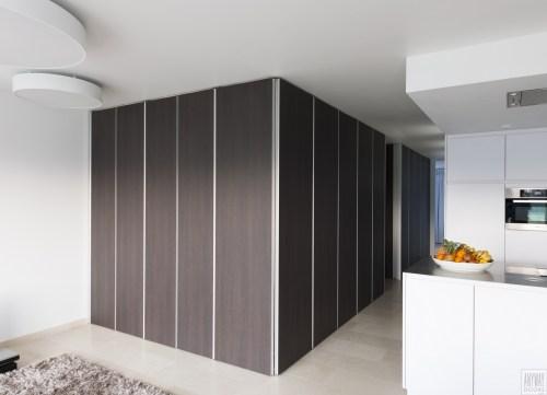 Garderobekasten met modern design op maat