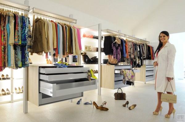 modulaire dressings op maat met modern design