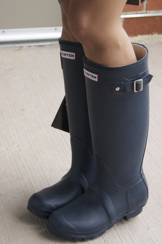 Review: Hunter Original Tall Wellington Boot - DRESSED ACCORDINGLY