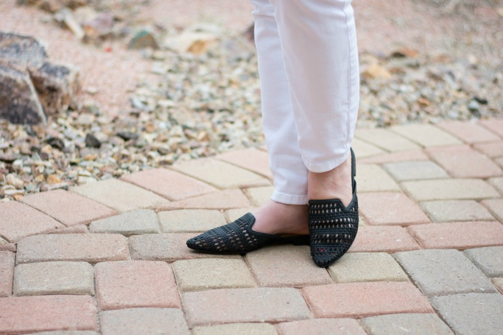 Woven Black Mules from Target