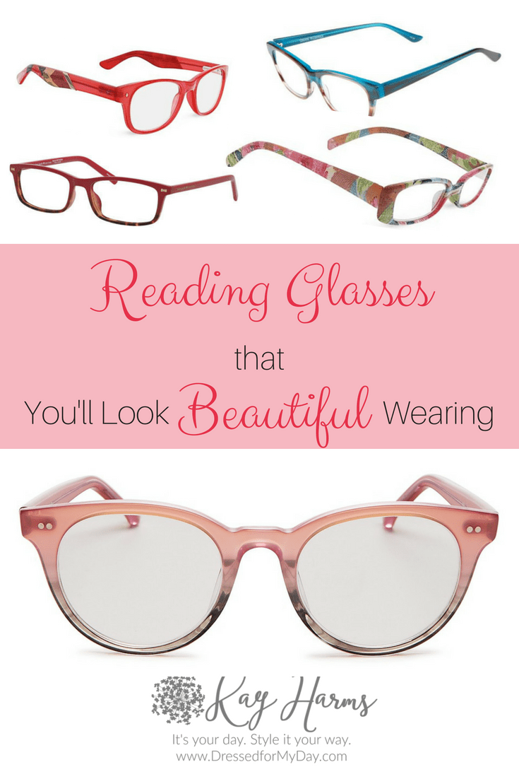 Reading glasses that you'll look beautiful wearing