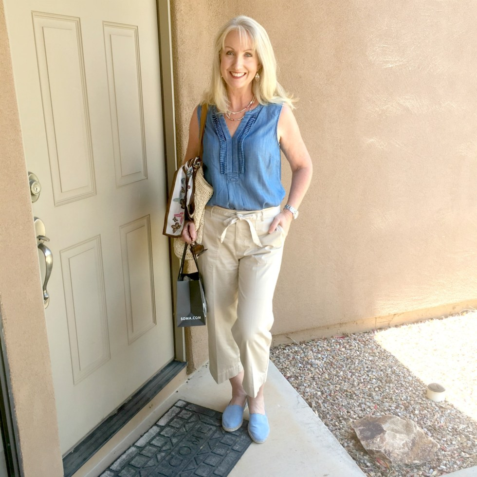 Wide Leg Crop Pants - How to Style