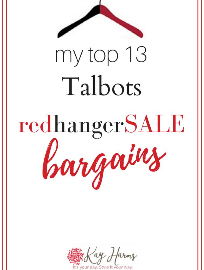 My Top 13 Red Hanger Sale Bargains