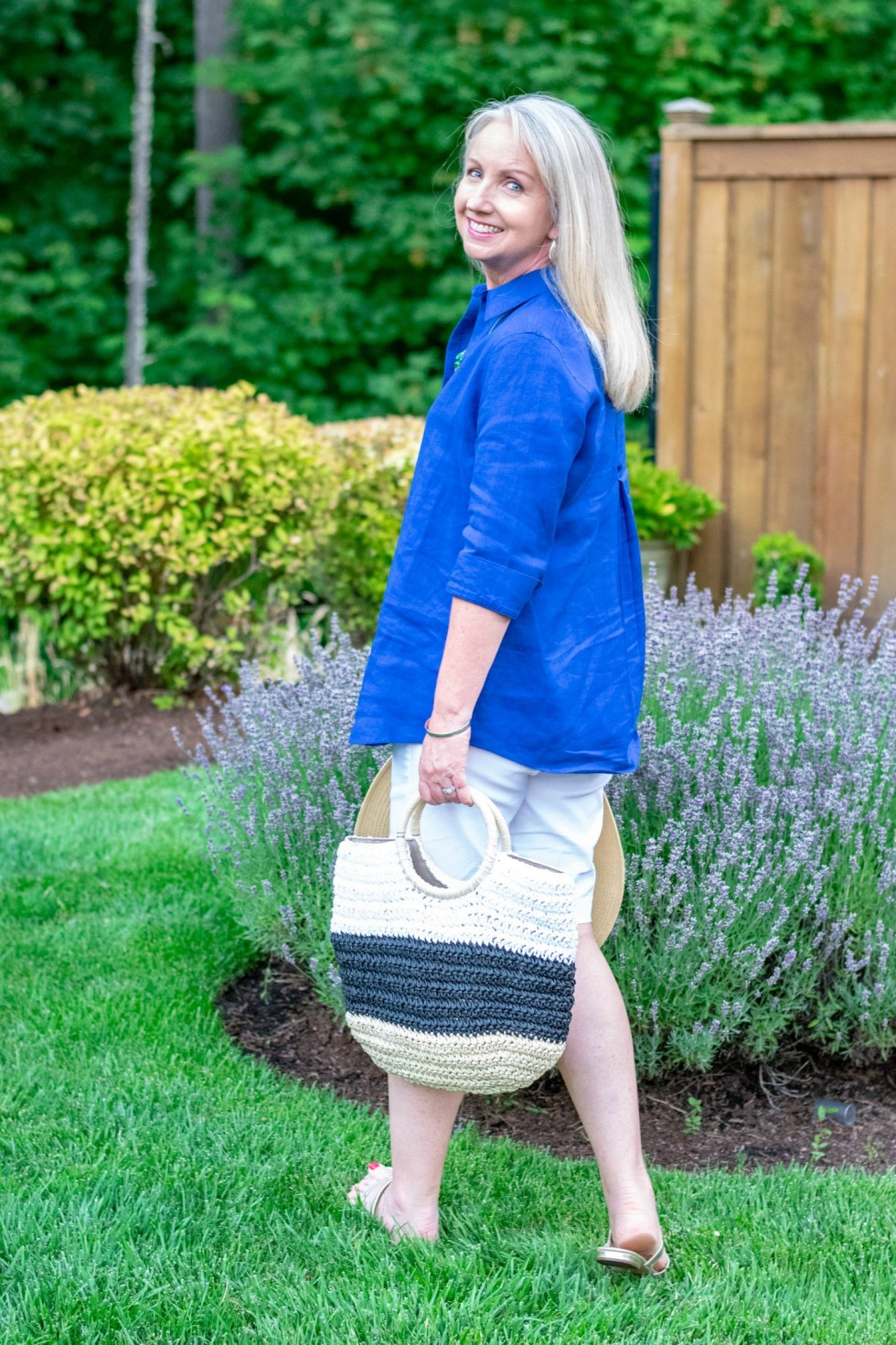 Summer Staples Linen and Straw Hat