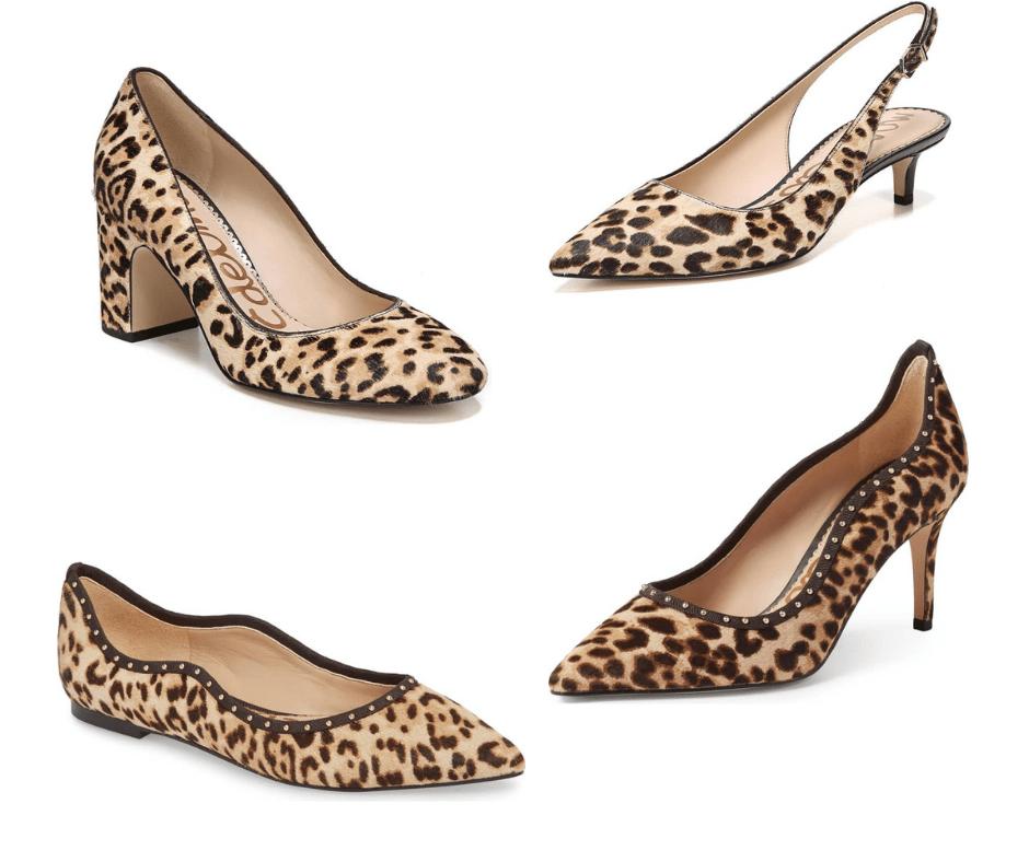 Saturday Shoe Sales Sam Edelman Leopard Print