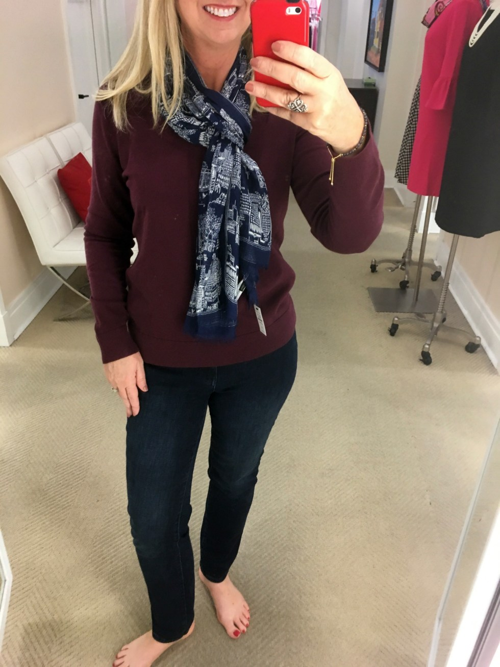 Talbots Fall Try-On Session