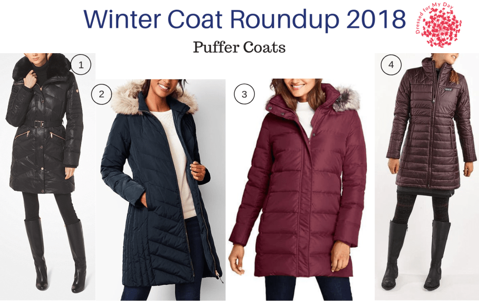 Winter Coat Roundup 2018 Puffer Coats