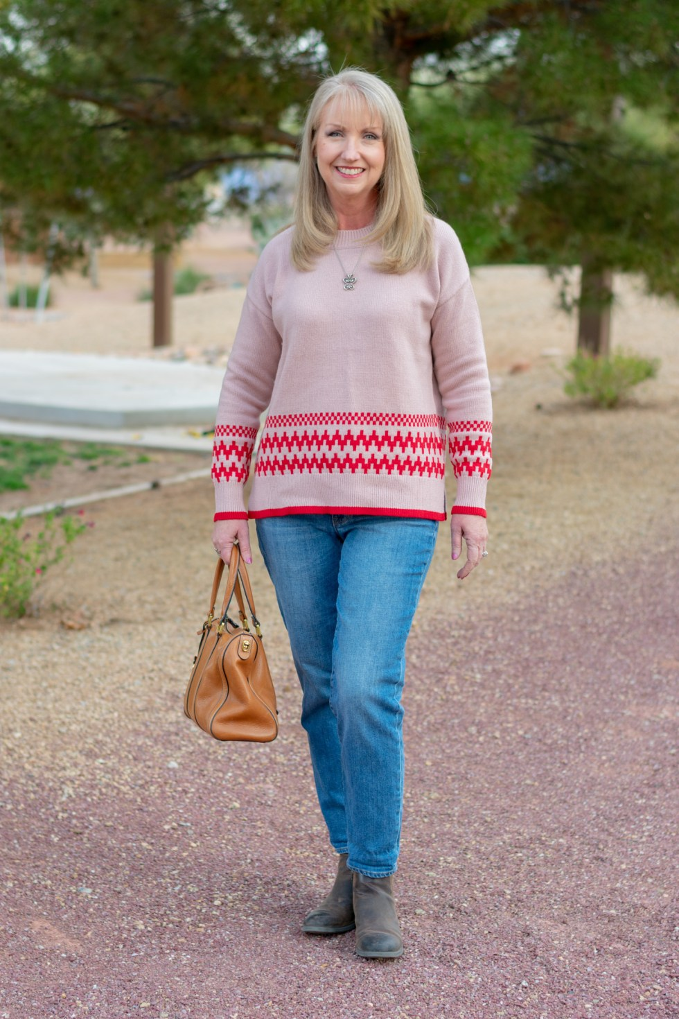 bb3f16c7c62 Warm Fair Isle Sweater from Boden - Dressed for My Day