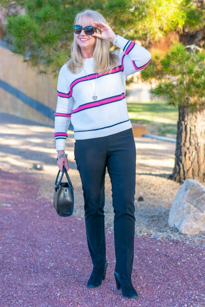 Bright Colorful Sweater for Winter to Spring