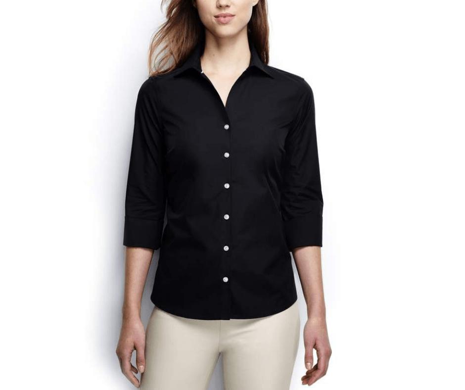 Clothes fit blouse