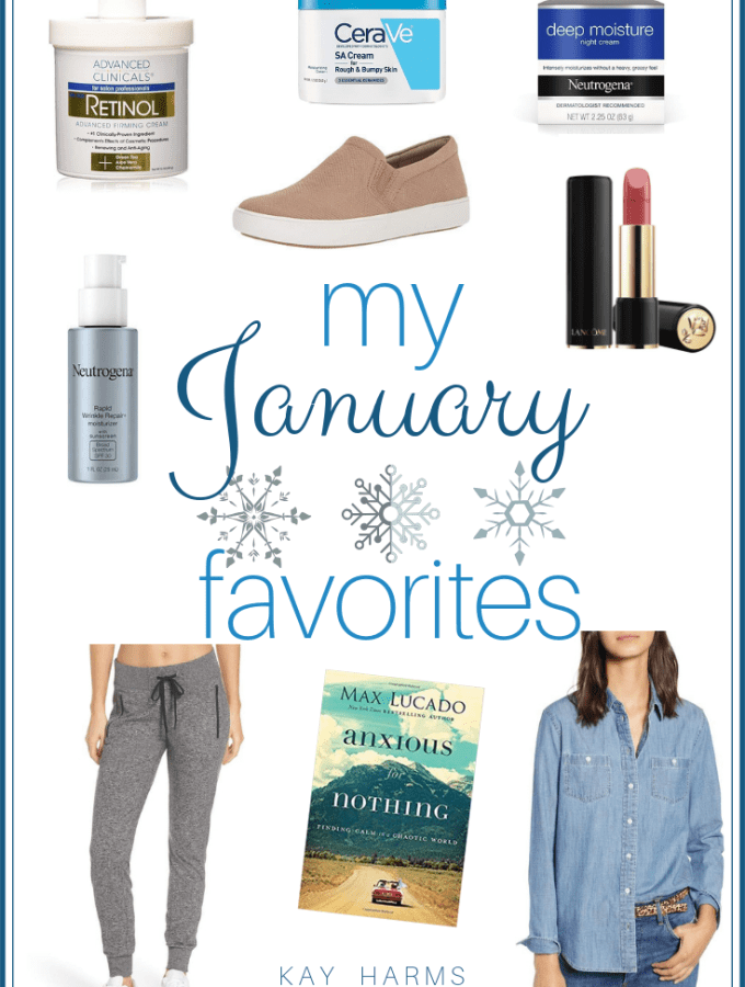 My January 2019 Favorites
