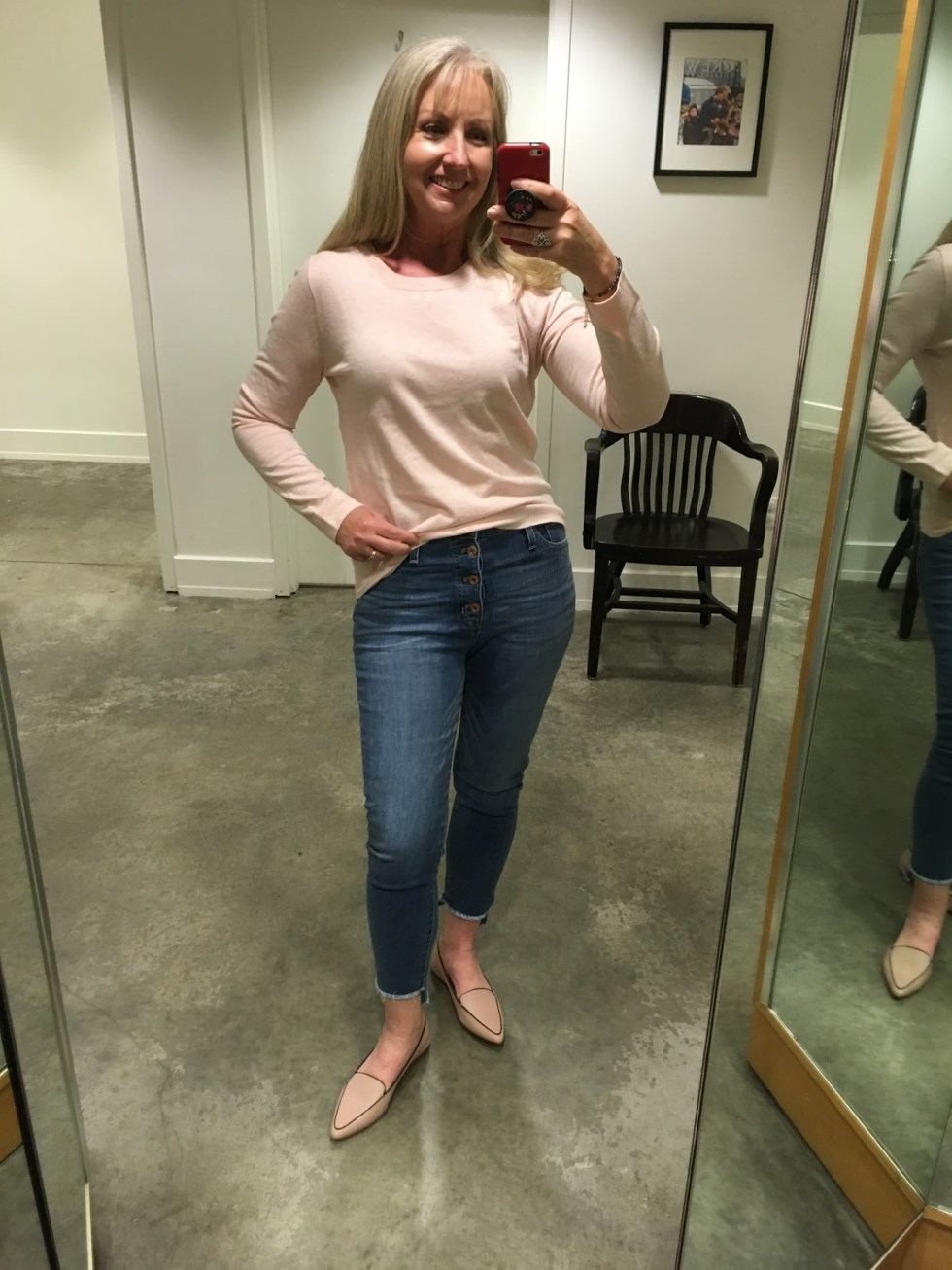 J Crew Factory Transition Try On Session