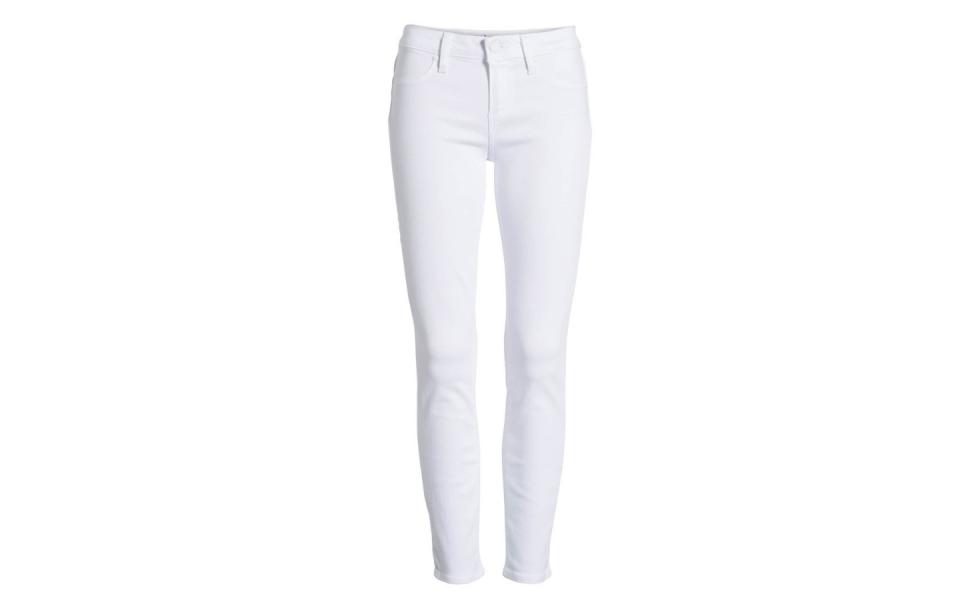 Spring 2019 Wardrobe Essentials White Jeans