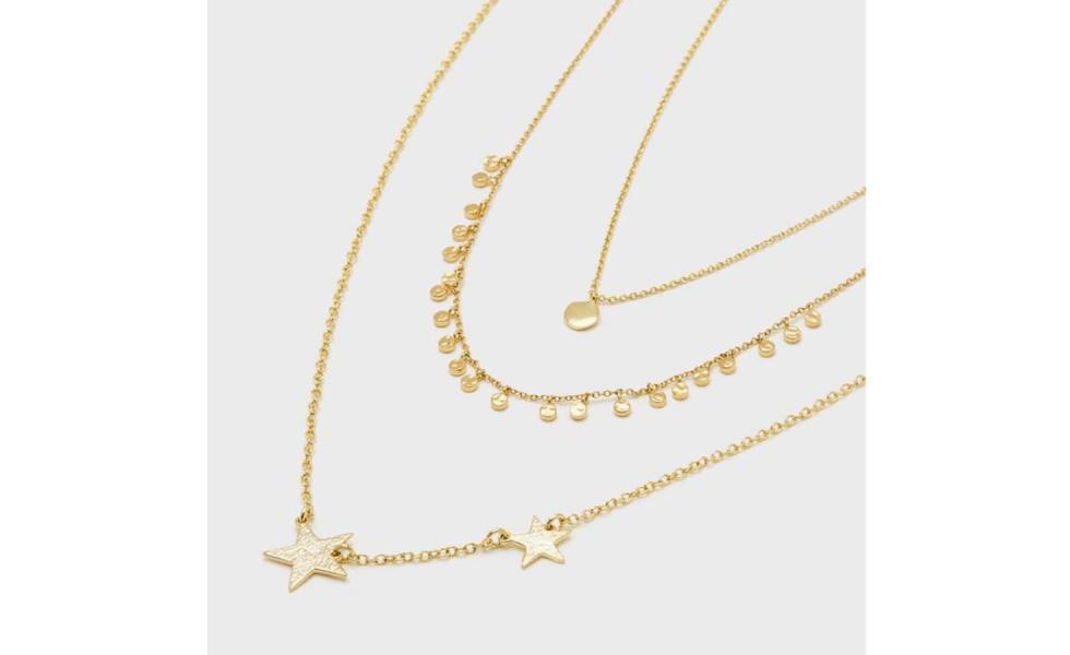 Spring 2019 Wardrobe Essentials layering necklaces