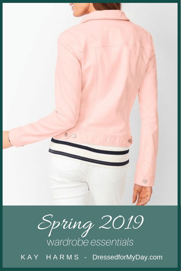 Spring 2019 Wardrobe Essentials