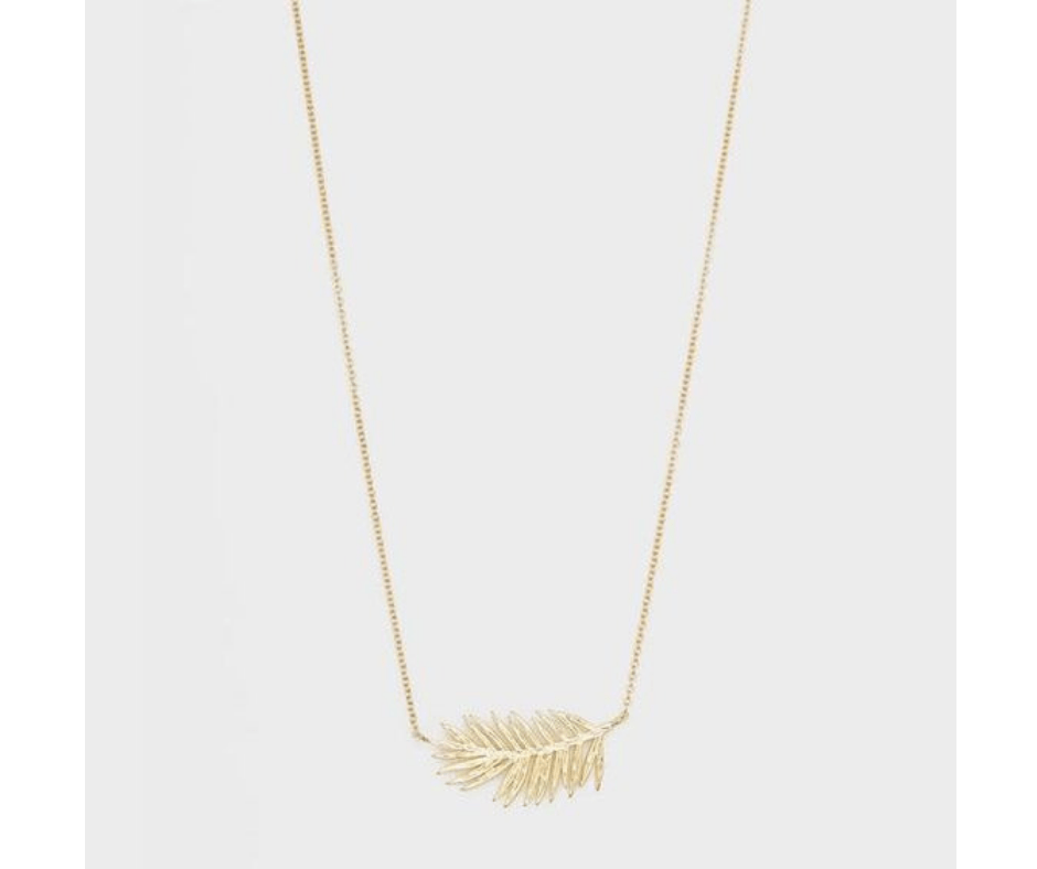 March Favorites Palm Necklace