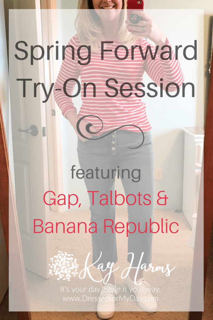Spring Forward Try-On Session
