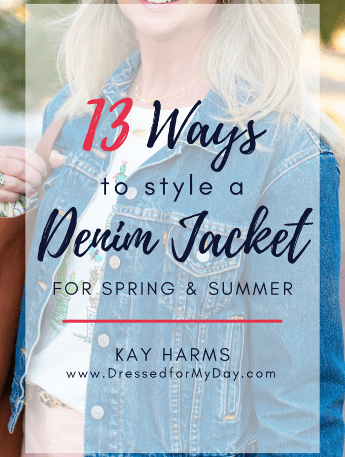 13 Ways to Style a Denim Jacket for Spring and Summer