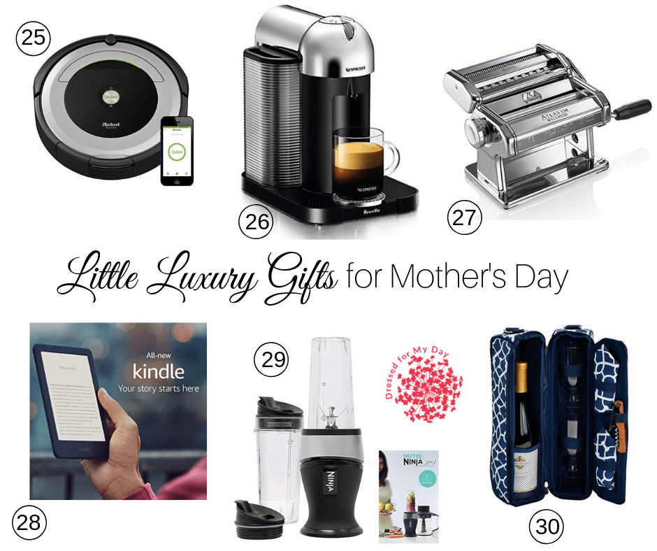 Mothers Day little luxury gifts