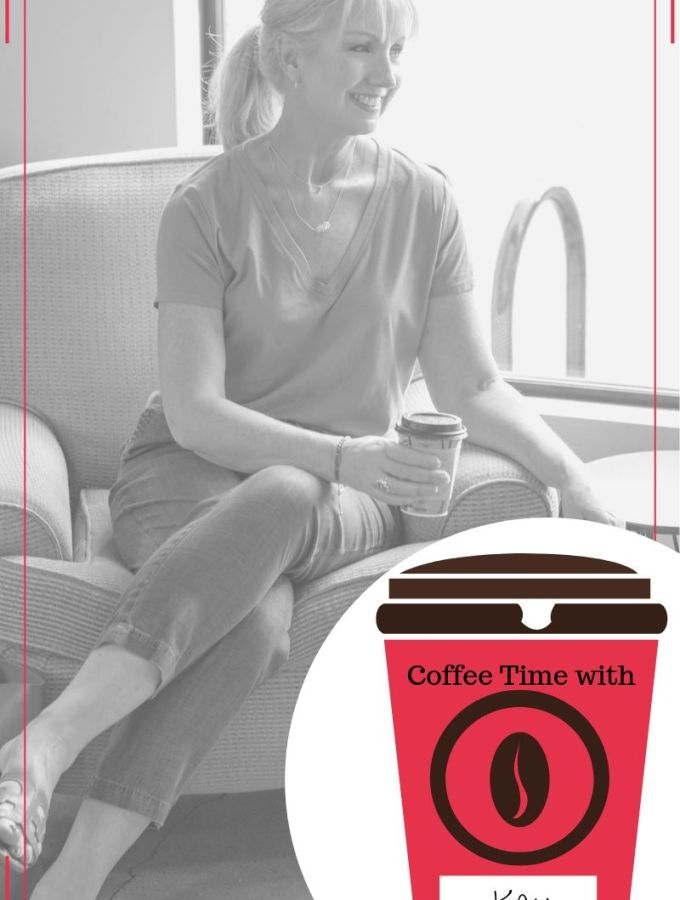Coffee time with Kay graphic