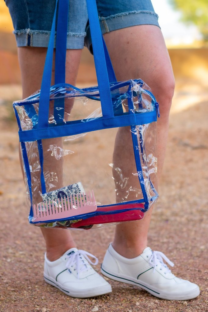 Clear Bag for Sports Arenas