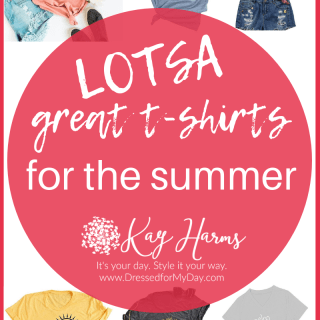 Lotsa great t-shirts for summer