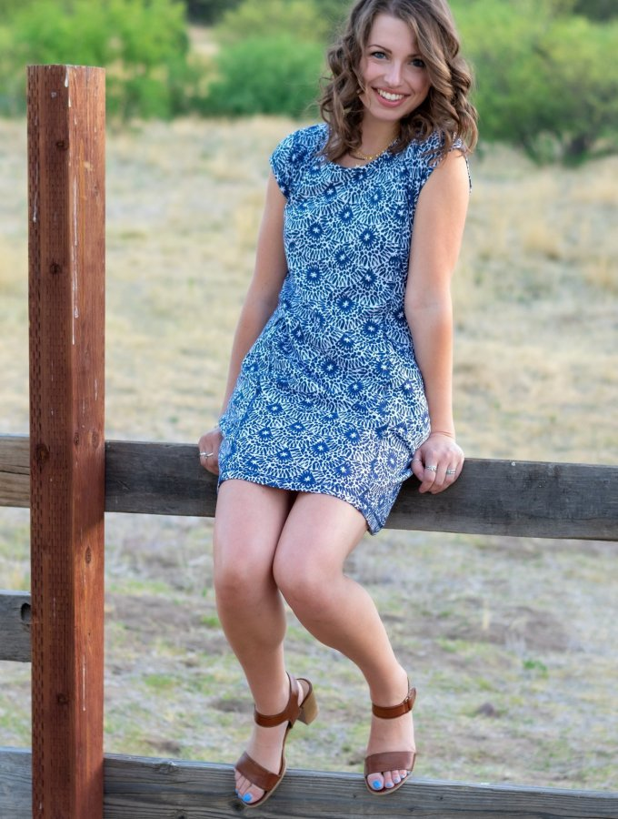 French Terry Dress for Summer Days