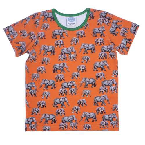 Orange elephant Tshirt
