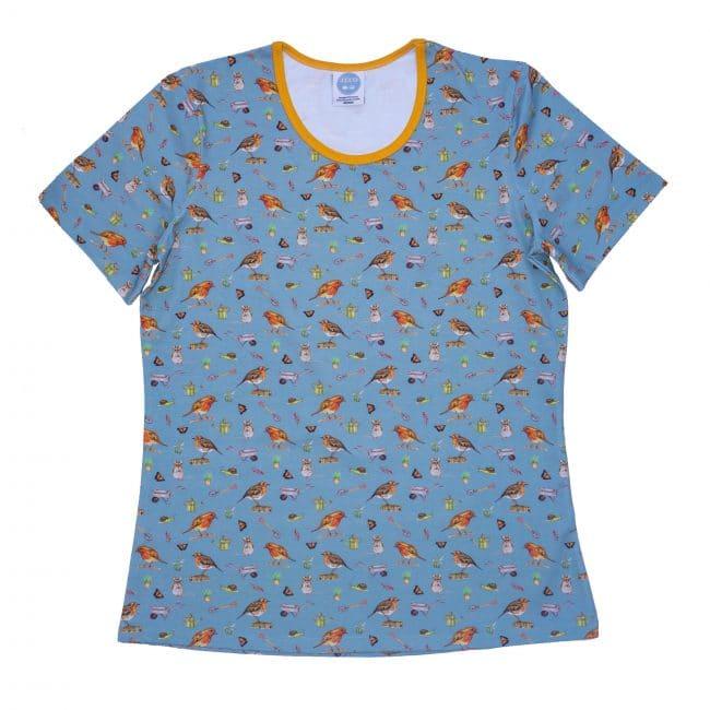 Blue Robin Tshirt