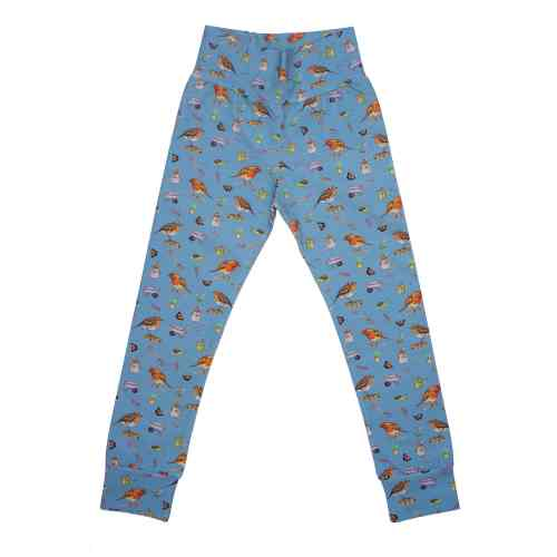Blue Robin Leggings