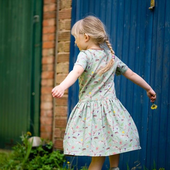 Green Countryside Dress