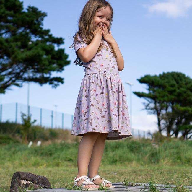 Lilac Countryside Dress