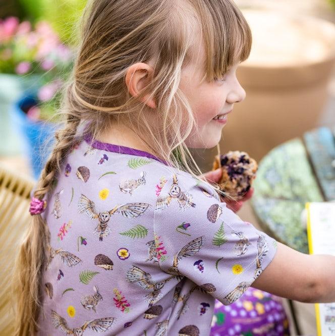 Lilac Countryside Tshirt