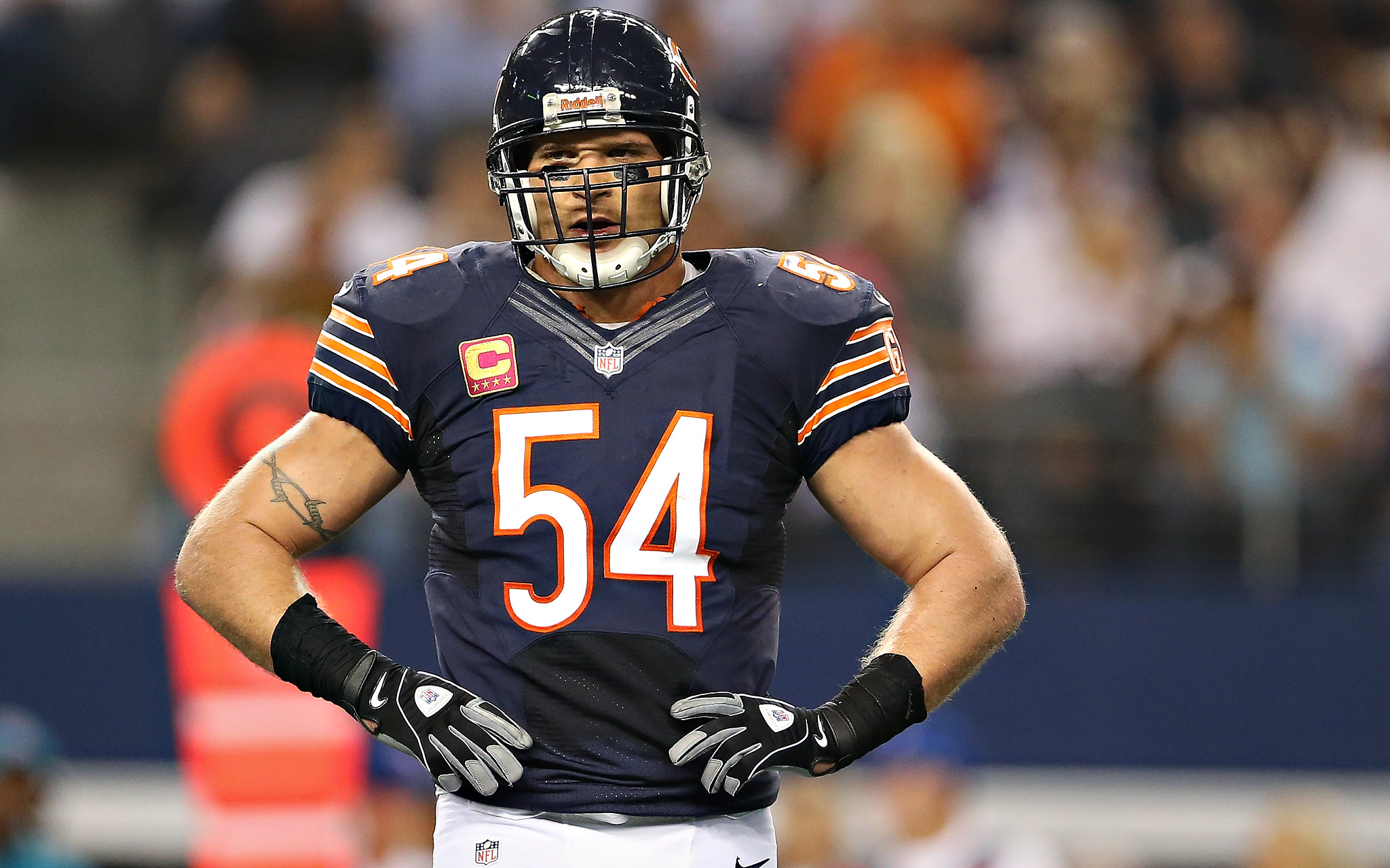 finest selection 2616c c7fad Brian Urlacher...Thanks for the Memories - DRESSED TO A T